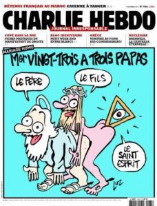 blog -Charlie hebdo-Mgr Vingt-Trois a 3 papas-Luz