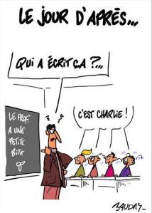blog -Charlie hebdo pourrit les rapports-Baudry