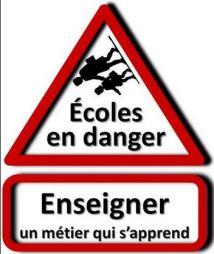 blog -ecole en danger-metier qui s apprend-paneau