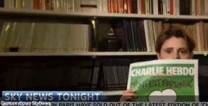 Fourest C. tente de militer sur SkyNews en faveur des provocateurs de Charlie hebdo