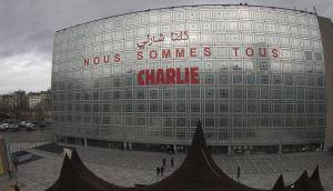 blog -Institut du monde arabe Paris affiche soutien a Charlie-15jan2015