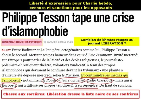 """Chasse aux sorcières d'un """"khmer rouge"""" de la presse de France (janvier 2015)"""
