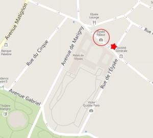 blog -plan Paris-palais Elysee-lieu agression policiere-14-15jan2015