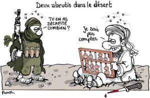 Les islamistes ne savent pas compter (sauf les demandeurs de rançons),  mais Valls ne sait pas ce qu'il dit.