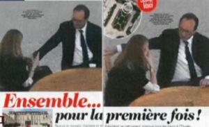 blog -Gayet au cote de Hollande a Elysee-Voici nov 2014