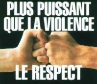blog -respect plus puissant que la violence
