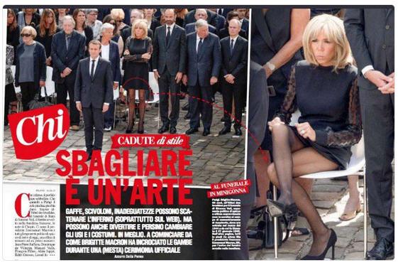"""Résultat de recherche d'images pour """"Brigitte Macron indecente"""""""