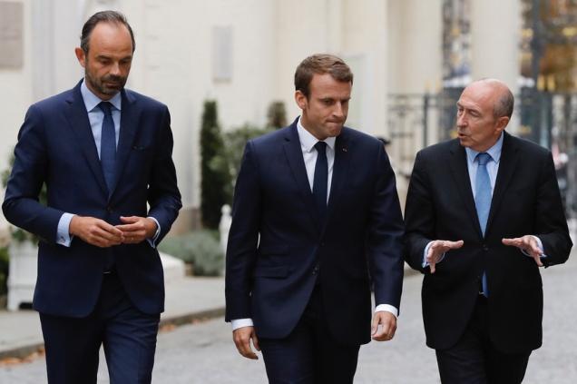 blog -Philippe-Macron et Collomb