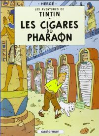 blog -Tintin-Cigares du pharaon-cover.JPG