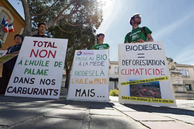 FRANCE-EMVIRONMENT-OIL-GAS-ENERGY-DEMO