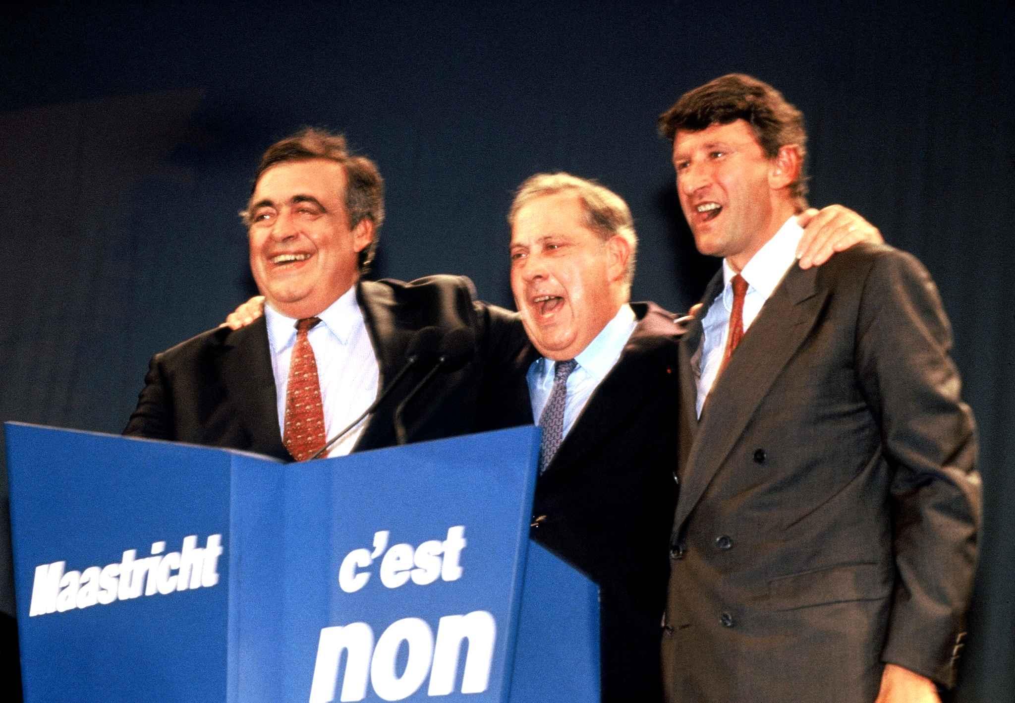 blog -Non a Maastricht-campagne Seguin-Pasqua-Villers1992