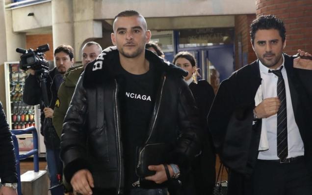 blog -rappeur Sofiane Zermani, dit « Fianso » avec  avocat Me Steeve Ruben au tribunal de Bobigny après avoir bloqué d autorité la circulation de l'autoroute A3 en fevrier2018,pour un clip.jpg