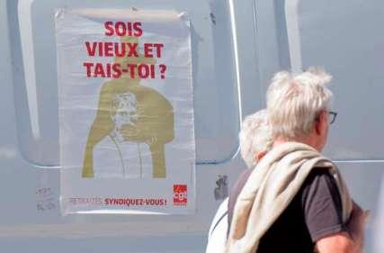 blog -retraités en colere contre Macron-sois vieux et tais-toi-affiche-juin2018.jpg