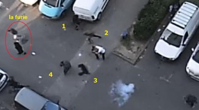 blog -rodeo de Villemomble-policiers pris a parti par famille