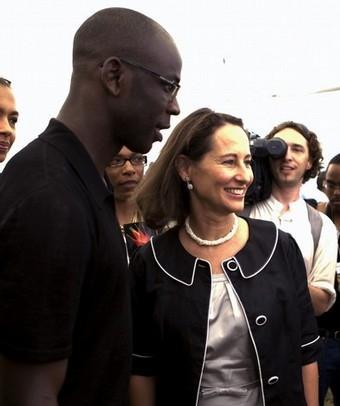 """Résultat de recherche d'images pour """"Thuram soutient Segolene royal"""""""