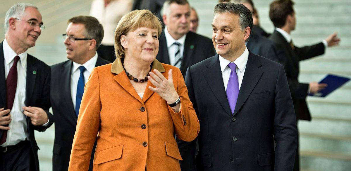 Balog Zoltán; Orbán Viktor; MERKEL, Angela; Matolcsy György